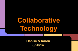 Collaborative Tech